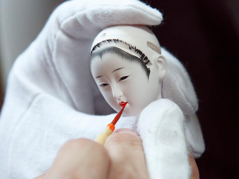 大生人形-製作風景(4)