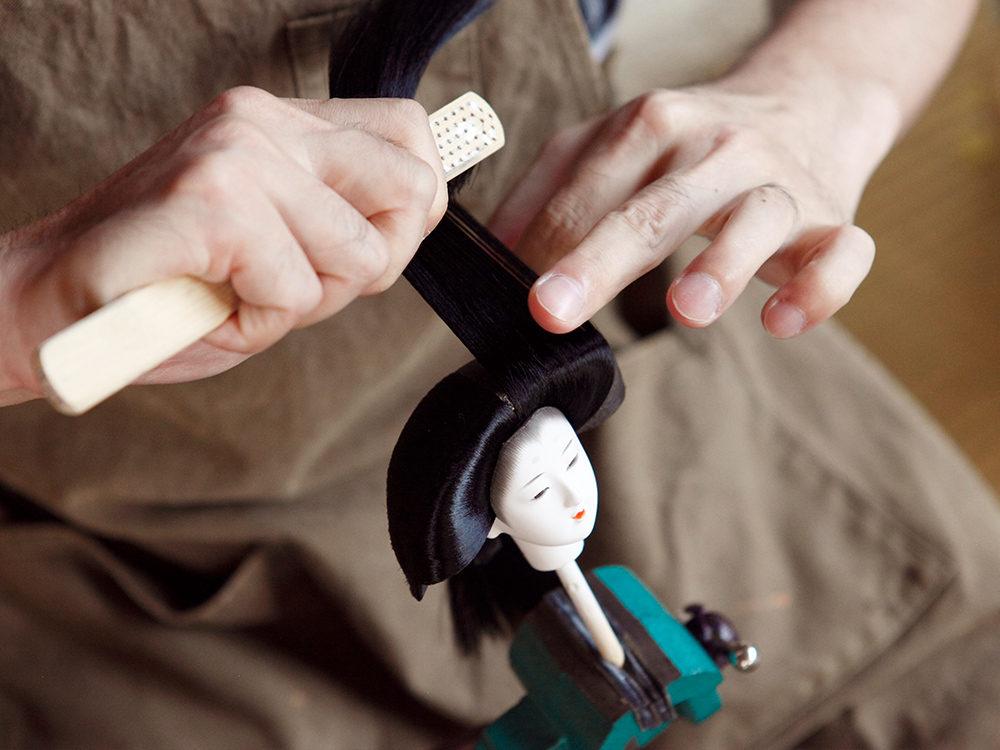 大生人形-製作風景(6)